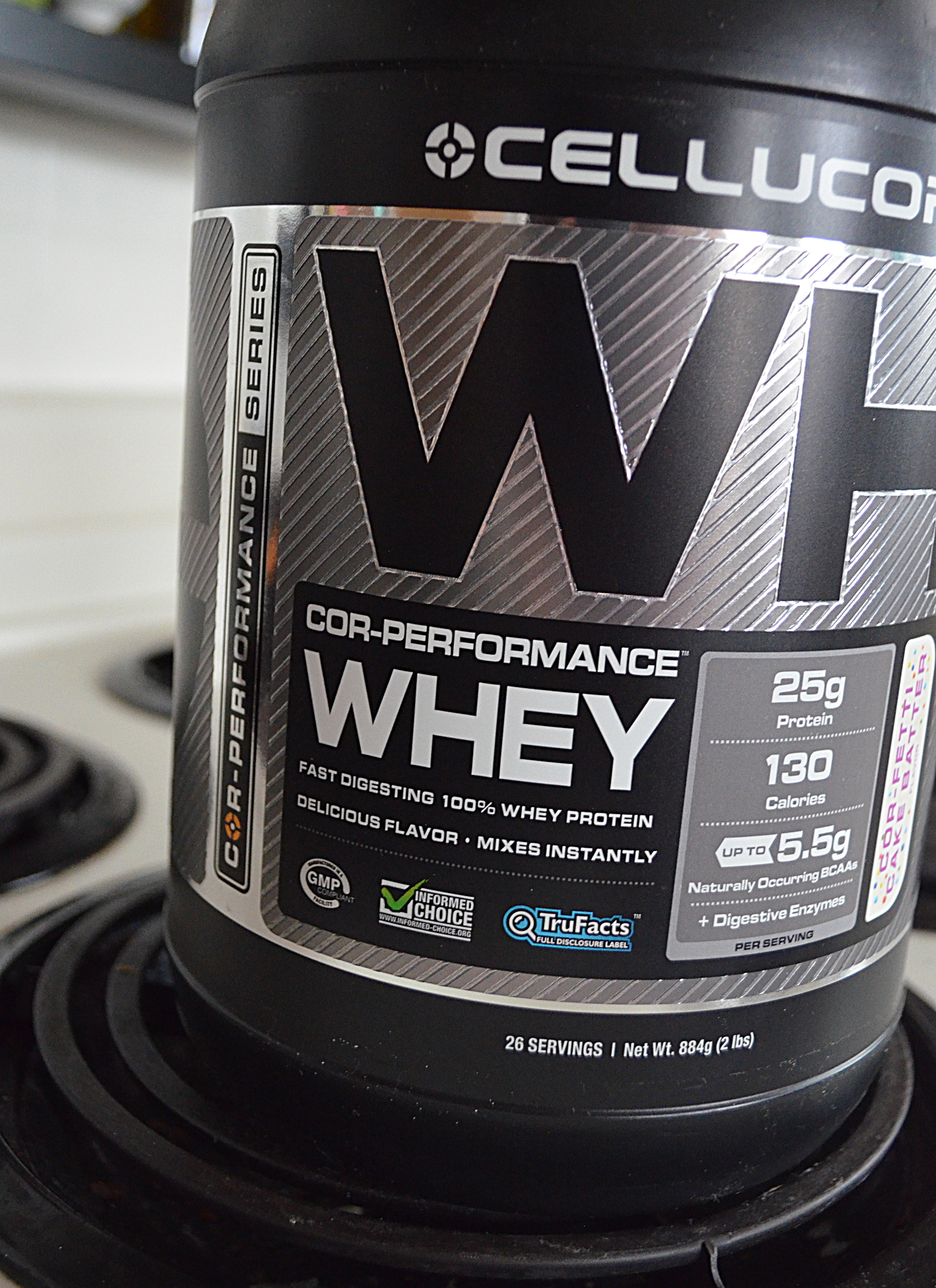 Cellucor COR Fetti Cake Batter Whey Protein Foodette Reviews